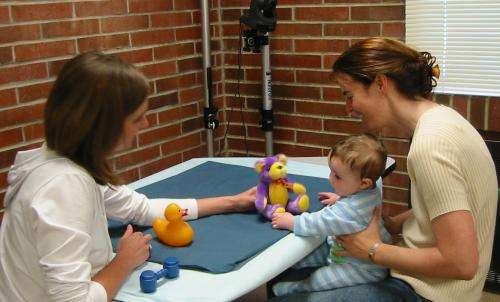 Brain structure of infants predicts language skills at one year