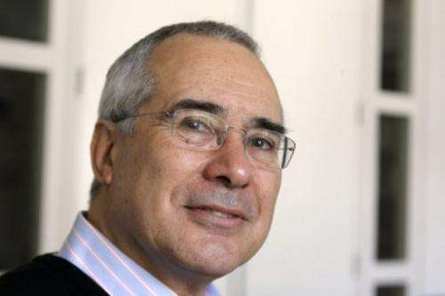 British former chief economist for the World Bank Nicholas Stern is pictured on April 1, 2010, in Paris