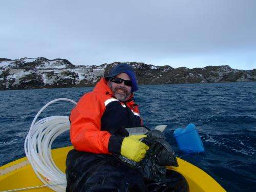 Cold, salty and promiscuous -- Gene-shuffling microbes dominate Antarctica's Deep Lake
