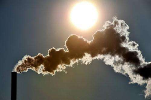 Carbon dioxide levels in the atmosphere surpassed historic threshold last week