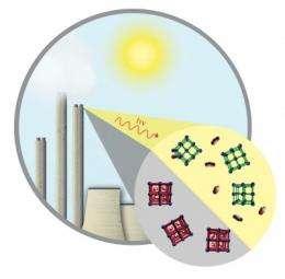 Carbon sponge could soak up coal emissions