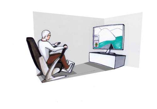 CeBIT 2013: The armchair as a fitness trainer