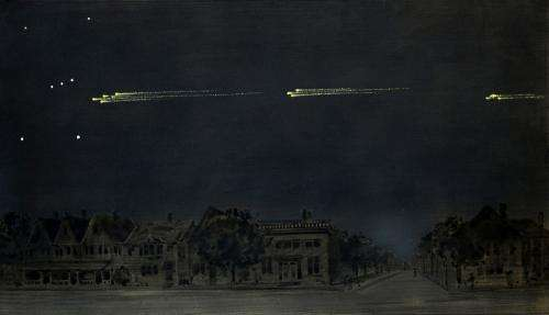 Celestial sleuths track historic meteor procession to South Atlantic