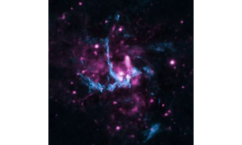 Chandra helps confirm evidence of jet in Milky Way's black hole