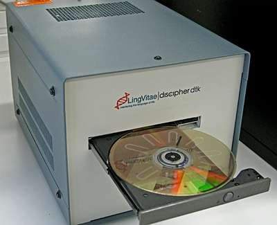 Cheap and quick HIV testing made possible with DVD scanners