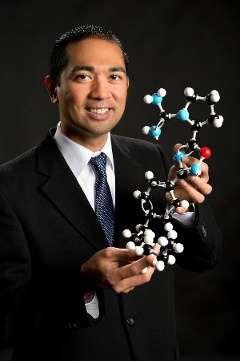 Chemist working to help healing process