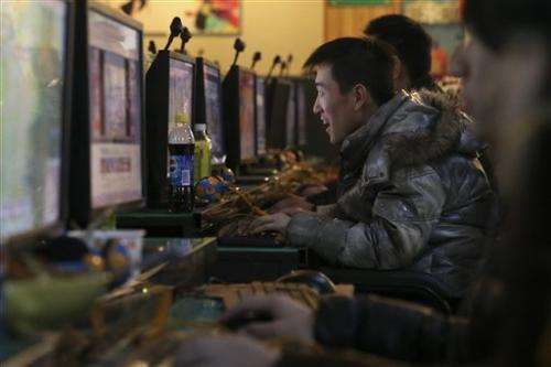 China's online population rises to 519 million