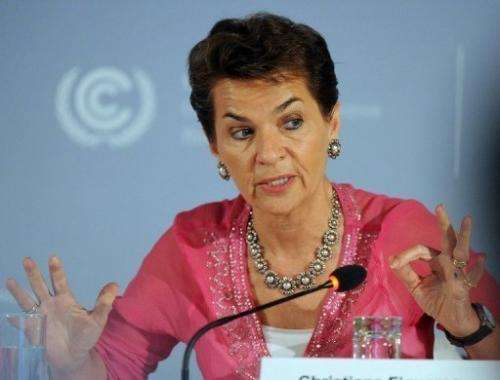 Christiana Figueres, Executive Secretary of the UN Framework Convention on Climate Change, May 25, 2012, Germany