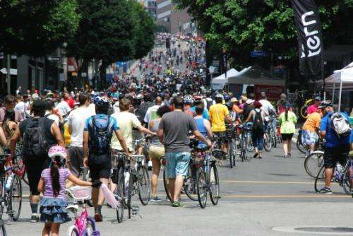 CicLAvia boosted sales for businesses along route, research shows