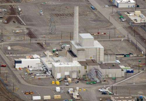 Cleanup operations at the Western hemisphere's most contaminated nuclear site in Hanford, Washington, March 21, 2011