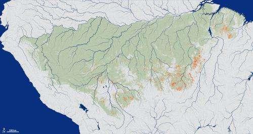 Climate conditions determine Amazon fire risk