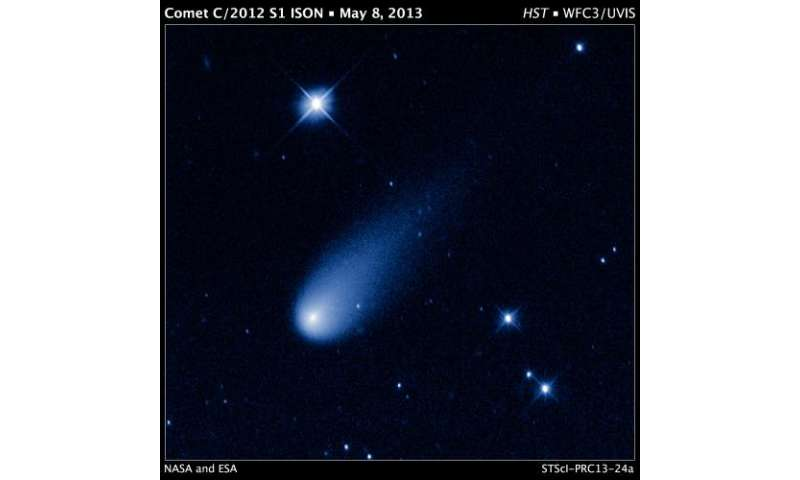 Comet ISON brings holiday fireworks