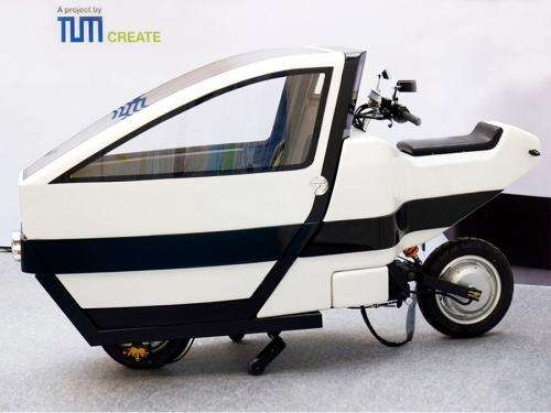Compact multipurpose scooter for crowded megacities