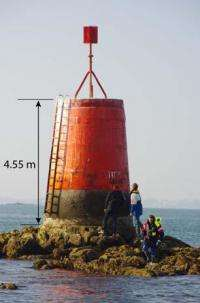 Concrete developed at EPFL to rescue Brittany's lighthouses