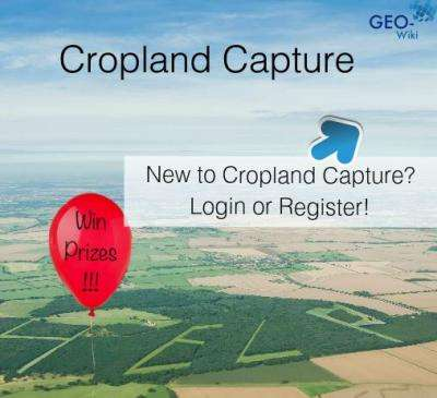 Cropland Capture game brings citizen science to global food research