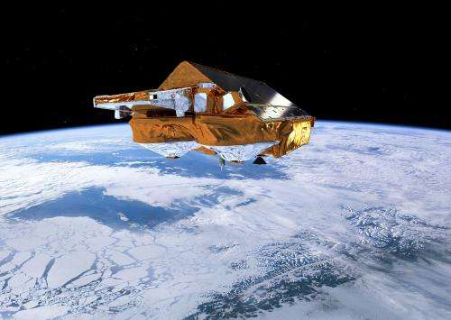 CryoSat measures European storm surge