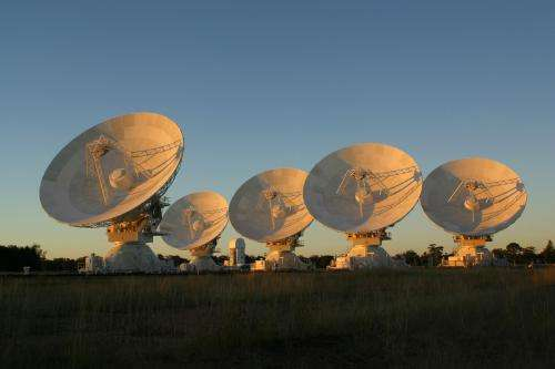 CSIRO telescope takes temperature of Universe
