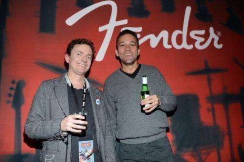 Cullen Hoback and John Ramos at the Terms And Conditions May Apply: Privacy Invasion Party on January 21, 2013