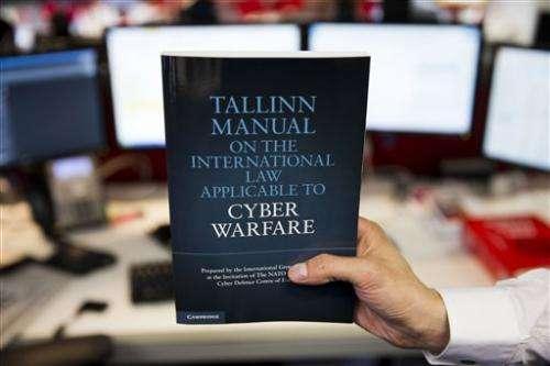 Cyberwar manual lays down rules for online attacks