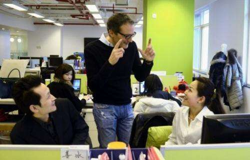 Dan Serfaty, CEO of Viadeo, has forged his company's way into China by promoting itself as a way to maintain guanxi