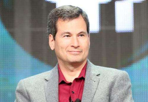 David Pogue speaks at the Beverly Hilton Hotel on August 7, 2013 in Beverly Hills, California