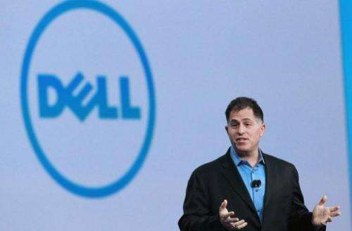 Dell CEO Michael Dell delivers a keynote address on September 22, 2010 in San Francisco, California