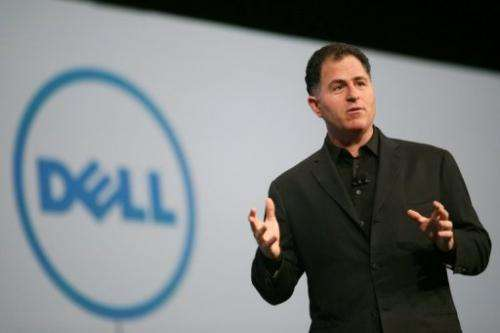 Dell Chairman and CEO Michael Dell speaks on October 4, 2011 in San Francisco, California