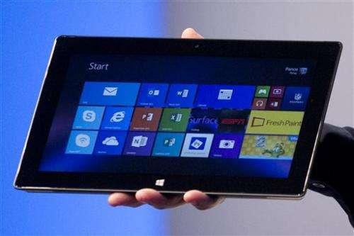 Delta picks Microsoft for pilot tablets