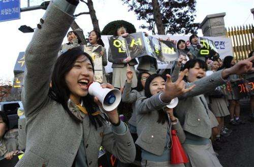 Diligent Asian students dominate global exam