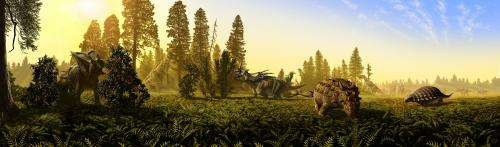 Dinosaurs, diets and ecological niches: Study shows recipe for success