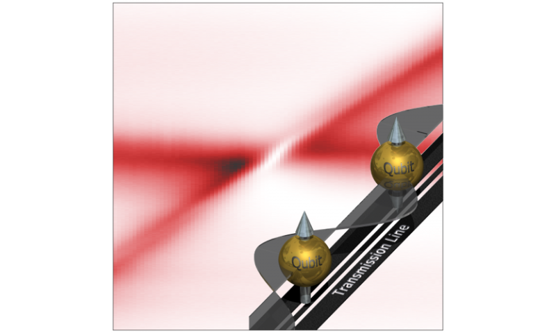 Distant artificial atoms cooperate by sharing light, international research team shows