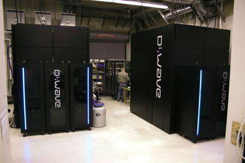 D-Wave One Systems Being Tested in the Lab