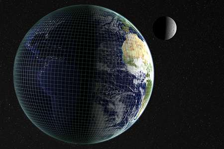 Earth's core affects length of day