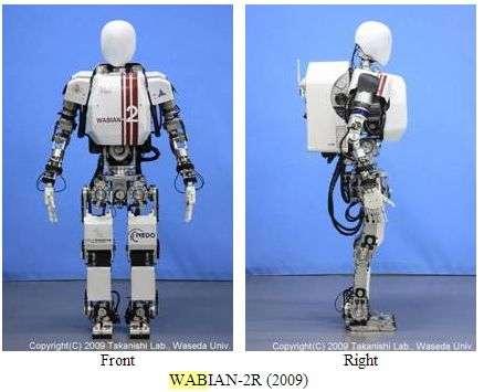 WABIAN robot from Japan steps closer to human walk