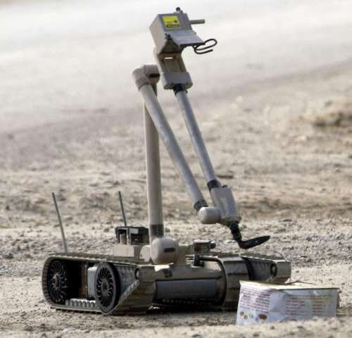 Emotional attachment to robots could affect outcome on battlefield