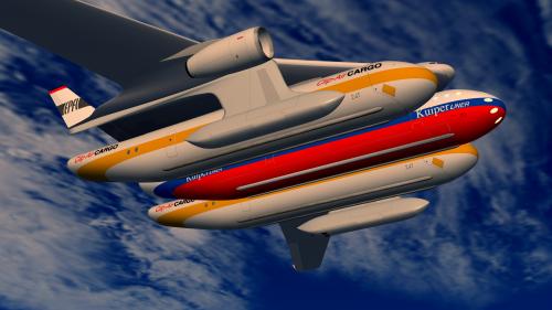 EPFL presents a modular aircraft at Paris Air Show