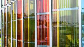 EPFL's campus has the world's first solar window