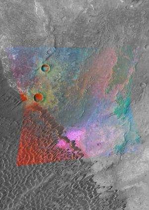 Evidence found for granite on Mars