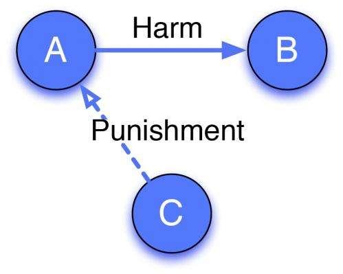 Evolution of 'third party punishment'