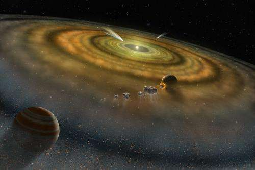 Exocomets may be as common as exoplanets