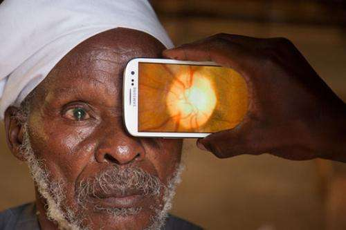 'Eye-phone' that could help prevent blindness