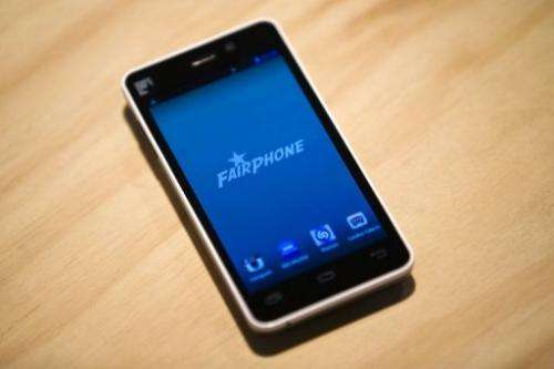 Fairphone avoids sourcing materials from conflict zones or using factories with poor labour practices