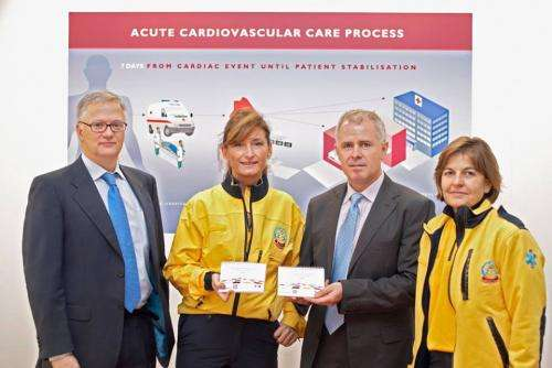 First aid teams set to improve heart attack survival with pocket manual