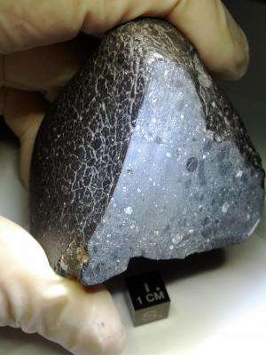 First meteorite linked to Martian crust