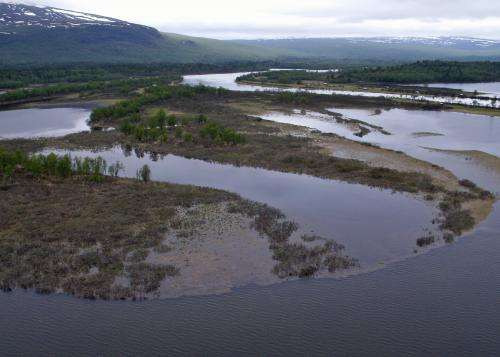 Floods didn't provide nitrogen 'fix' for earliest crops in frigid North