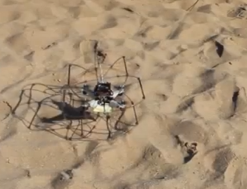 Flying, rolling robot might make a great Titan explorer