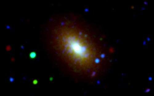 Galaxy growth examined like rings of a tree