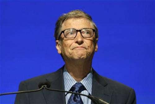 Gates chokes up at Ballmer's shareholder goodbye