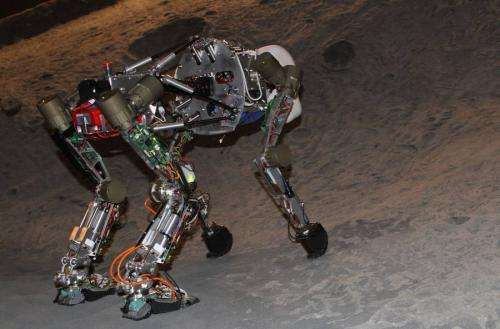 German team creates robot ape