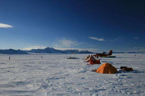 Giant channels discovered beneath Antarctic ice shelf